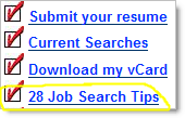 28 Job Search Tips - Harry Joiner - Marketing Recruiter