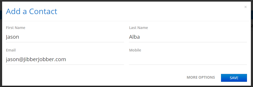 JibberJobber_tutorial_add_contact_form