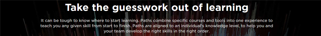 Pluralsight Learning Paths