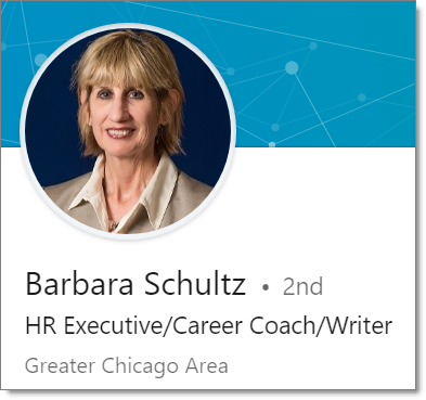 Barbara Schultz Career Coach HR Executive