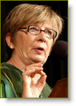 Barbara Ehrenreich speaking