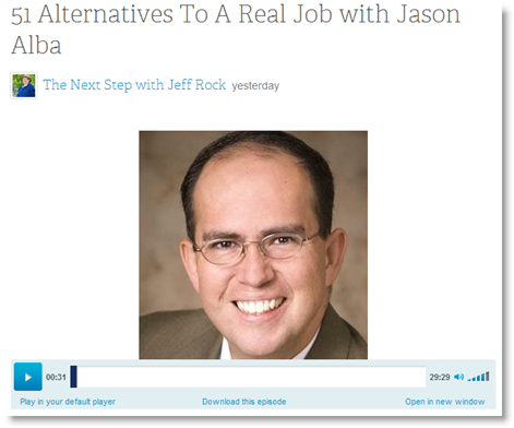 blogtalkradio_jeff_rock_51_alternatives_to_a_real_job