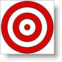 Bulls-eye - Staying Focused