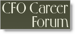 CFO Career Forum