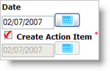 Check this box to create an Action Item!