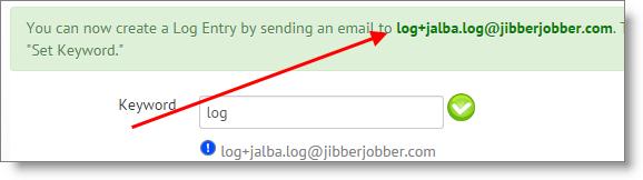 email2log_jibberjobber_setup