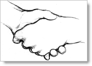 networking starts with a handshake
