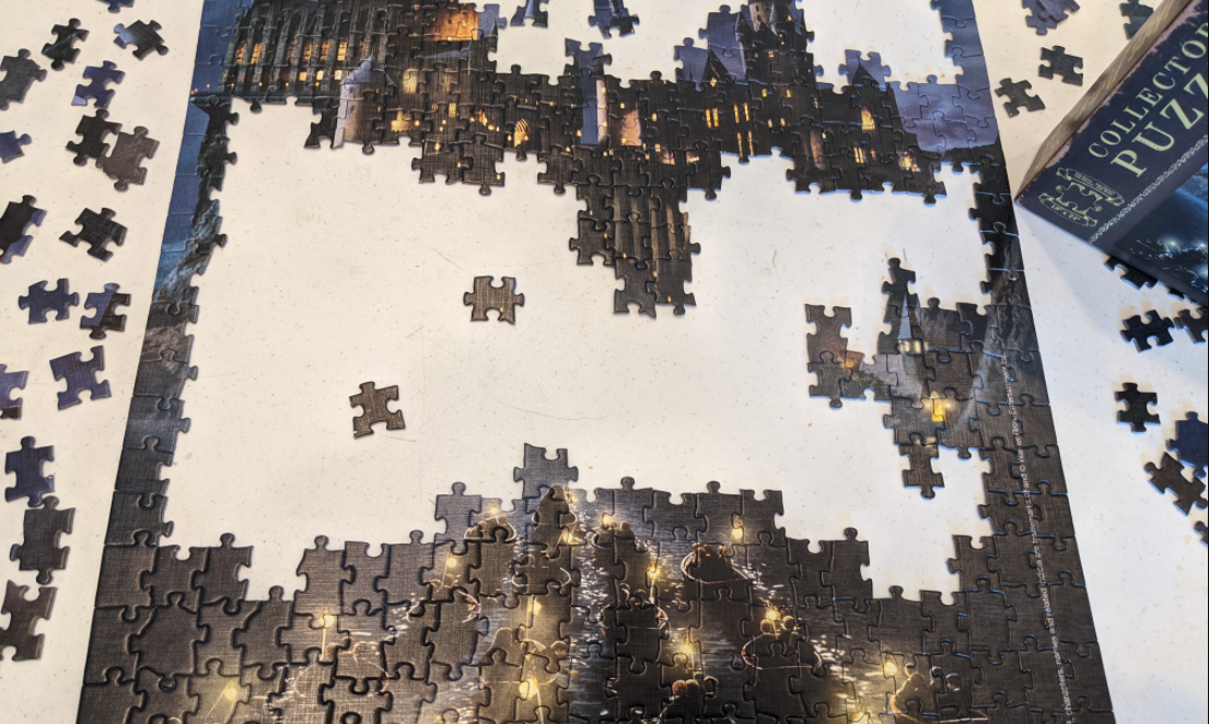 Harry Potter Puzzle Job Search