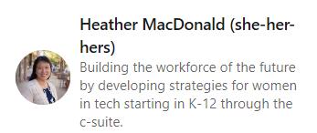 Heather MacDonald Program Manager