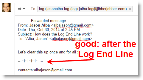 jibberjobber-email2log-logendline_working
