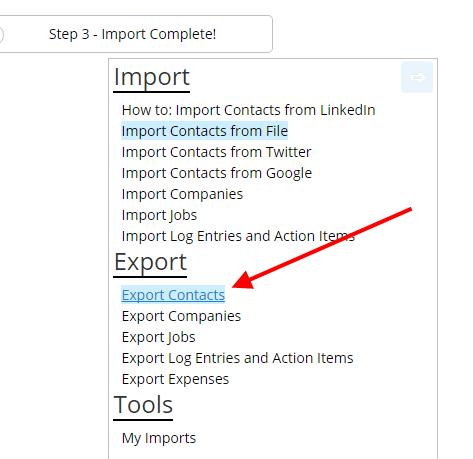 jibberjobber-export-contacts-2