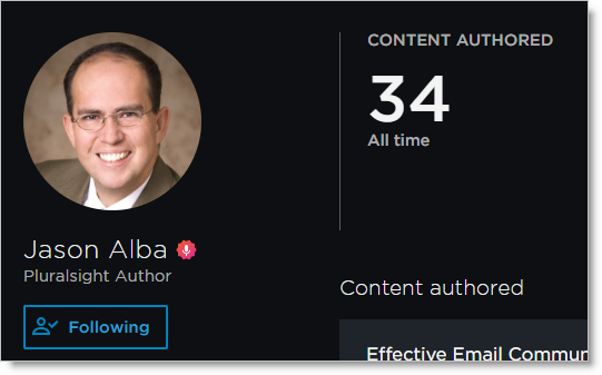 JibberJobber Jason Alba Pluralsight Courses