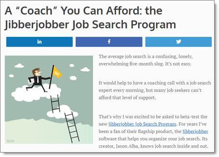 JibberJobber Job Search Coach Program
