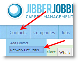 jibberjobber_contacts_list_panel