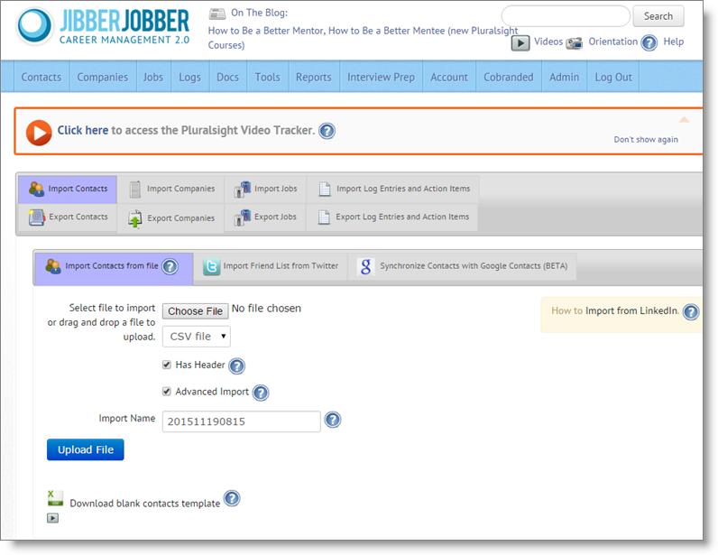 jibberjobber_friction_import_export_old_UI