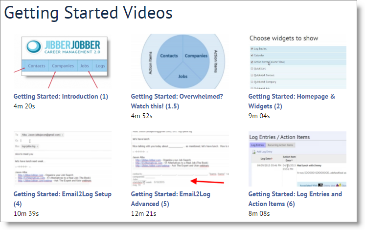 jibberjobber_getting_started_videos