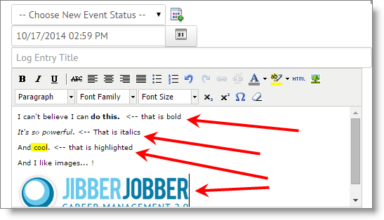 jibberjobber_rich_text_log_entry