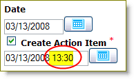 add time to your Action Items