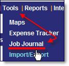 Job Journal, Job Diary