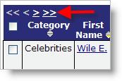List Panel Navigation
