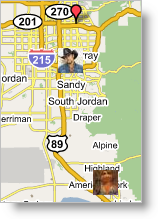GoogleMaps with profile images!