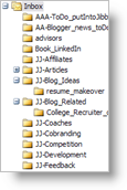Jason's Outlook Folders