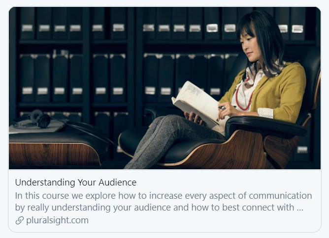 Pluralsight Understanding Your Audience Jason Alba