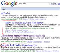 Google Robb Hecht