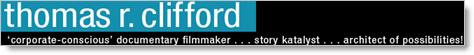 Thomas Clifford banner on his blog