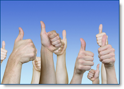 LinkedIn Recommendations - giving a professional endorsement, or thumbs up!