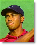 Tiger Woods plays to win