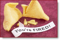I was actually not fired, just laid off